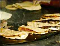 Quesadillas de Sesos