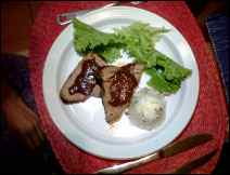 Filete con Chocolate