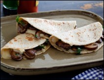 Quesadillas de Hongos Morelenses